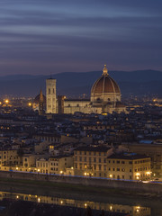 i wish everyday could be just this good (Wizard CG) Tags: italia toscana tuscany firenze florence cityscape piazzale michelangelo santa croce maria del fiore palazzo vecchio arno river sky cloud colour light epl7 architecture building skyline city world trekker ngc dusk roof night tower