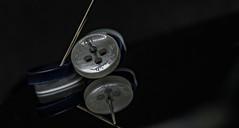 #ButtonsandBows (Aleem Yousaf) Tags: buttonsandbows macromondays nikon d800 nikkor105mm bokeh macro table top phone iphone button apple paul smith london needle closeup