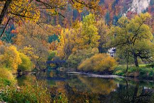 The bridge @ the Danube-river