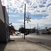 Pennsylvania Avenue (dankeck) Tags: christmas holiday city decoration electric pole wendys street sidewalk dairycorner clouds