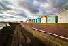 Along the Prom (pauldgooch) Tags: seaweed eos 2017 england 600d uk beachhut sea essex seascape canon beach brightlingsea seaside unitedkingdom gb