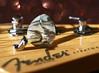 Marooned (Through Serena's Lens) Tags: hmm macromondays member'schoice musicalinstruments electric guitar fender springs pick headstock davidgilmour bokeh dof macro naturallight ui34567890lnm63