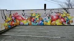 Back of 54-68 Kingsway (Mariko Ishikawa) Tags: canada britishcolumbia vancouver mountpleasant mural art streetart publicart