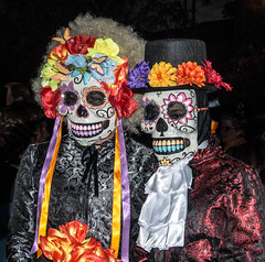 Walking Dead (westbymidwest) Tags: sanfrancisco california dayofthedead missiondistrict calaveras