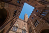 Italy - Palazzo Pubblico in Siena (Toon E) Tags: 2017 italy tuscany palazzopubblico siena torredelmangia piazzadelcampo tower up sky blue sony 7rm2 zeiss sonyfe1635mmf4 outdoors travel