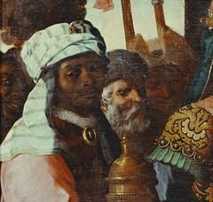 Francisco de Zurbarán The Adoration of the Magi Spain (c. 1638) via Twitter (medievalpoc) Tags: art history spain adoration medievalpoc painting 1600s