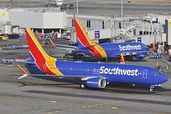 Maxin Out (Rich Snyder--Jetarazzi Photography) Tags: southwestairlines southwest swa wn boeing 737 737max8 b737 7m8 n8713m departure departing sanfranciscointernationalairport sfo ksfo millbrae california ca airplane airliner aircraft jet plane jetliner ramptowera rcta atower
