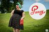 Sesión Pin Up (.RARO) Tags: pinup tatto tattogirl greenhair moda dress black smile sonrisa fashion indumentaria modelo