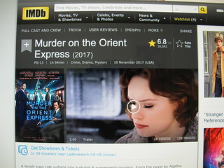 It's the Little Things, like a website called IMDB.