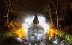 IMG_0927ab (matek 21) Tags: lightpainting longexposure lp liht lightpaintingvideo lighpainting mateuszkról mateuszkrol malowanieświatłem varta vartaflashlight vartabatteries samyang silhouete eos 600d lightsaber 8mm flashlight fisheye fire flashlights forest fog mystery strange scarry night bulb