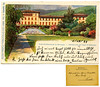 Stabilimento dei bagni di Roncegno, Philipp & Kramer, Wien, spedita l'1/10/1899 (Ecomuseo Valsugana | Croxarie) Tags: cartolina roncegno roncegnoterme 1899 terme bagni