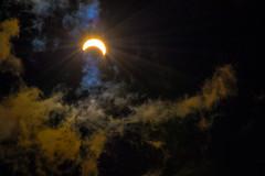 August 2017 Solar Eclipse (citron_smurf) Tags: solar eclipse sun solareclipse clouds sky partial 2017 august glow creepy moon