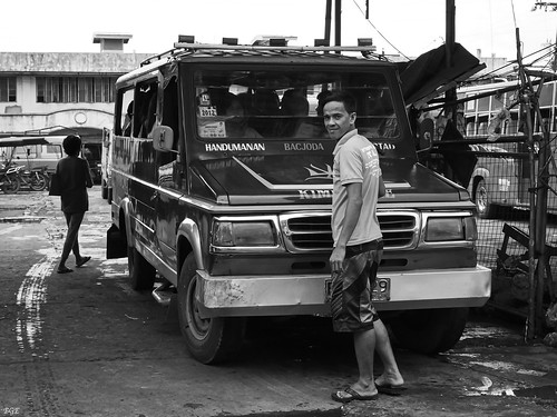 Jeepney Driver by Beegee49, on Flickr