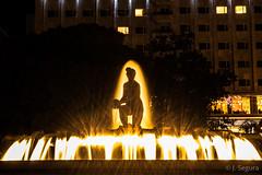 Plaza de España, Madrid (Yorch Seif) Tags: plazadeespaña madrid nocturna nocturnal largaexposicion longexposure efectoseda