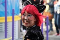 IMG_8638 Candid (marinbiker 1961) Tags: universalstudios japan 2017 woman women outdoors themepark smiliing smiles japanese costumes pretty portrait