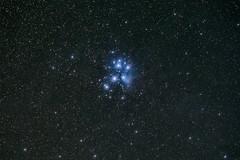 The Pleiades (Mike.Sabina) Tags: paicines california unitedstates us pinnaclesnationalpark astrophotography pleiades