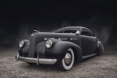 LaSalle (DL_) Tags: vintage classic black hotrod streetrod lasalle automotive transportation olympusomdem5mkii