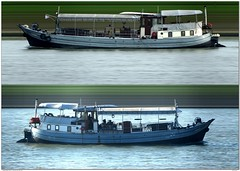 Nautilus (Morthole) Tags: ship boat schip boot barge binnenvaart schiff rheinschiff nautilus poster slitscan