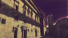 Santiago de Compostela (sftrajan) Tags: spain edited santiagodecompostela españa espanha galicia испания cameraphone oldcity ciudadvieja cidadevella