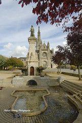Bretagne Morbihan ( photopade (Nikonist)) Tags: stannedauray bretagne mac morbihan affinityphoto nikon nikond200 architecture apple basilique sainteanne