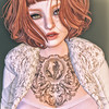 🍎 delightful (Apple aka Ossia) Tags: maitreya catwa song izzies kunst tram white widow blueberry uber second life blog freckles ginger red hair event blogger portrait photo secondlife sl tattoo fur coat blueberryclothes