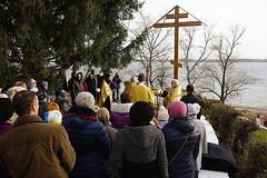 07_Установка поклонного креста на набережной