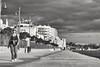 Larnaca stroll (sgnicos) Tags: fujiholics fujixe1 fujilove fujifilm streetphotography bw vintagelens clubman28mm monochrome monochromaniacs circularpolarizer
