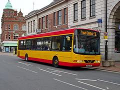 Midland Classic 111 Burton (Guy Arab UF) Tags: midland classic 111 bf52nzx daf sb200 wright commander bus high street burton upon trent staffordshire buses arriva 3711