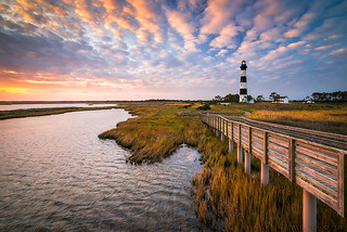 Bodie Island Lighthouse Outer Banks North Carolina OBX NC