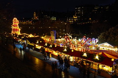 Illumined (Sundornvic) Tags: christmas edinburgh lights stalls amusements city
