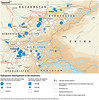 Hydropower developments in the mountains (Zoi Environment Network) Tags: map geography centralasia asia environment ecology climate security river hydropower energy electricity dam power powerplant water hydrology storage volume kazakhstan kyrgyzstan tajikistan uzbekistan turkmenistan afghanistan building project tension transmission glacier ice