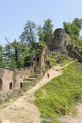 qaleh rudkhan (_perSona_) Tags: iran persia castle castell castillo guilan gilan roodkhan fuman sasanian sasanida rudkhan qaleh walls tower muralla torre