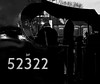 """Studying The Fire"" Ex-L&Y 'A Class' 52322 (Liam60009) Tags: eastlancashirerailway elr ramsbottom ramsbottomstation station lancashire yorkshire lancashireandyorkshire ly aclass 12322 52322 footplate footplatecrew crew blackandwhite fire monochrome bw steam steamlocomotive steamtrain steaming locomotive"