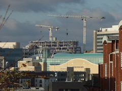 1 Chamberlain Square from Digbeth - from Cheapside (ell brown) Tags: highgate digbeth birmingham westmidlands england unitedkingdom greatbritain cheapside bullring debenhams chamberlainsquare paradise paradisebirmingham carillioncontractors redevelopment buildingsite constructionsite crane cranes 1chamberlainsquare ichamberlainsquare onechamberlainsquare birminghammuseumartgallery bmag museum birminghammuseumandartgallery birminghammuseums ladywoodhouse johnlewis johnlewisbirmingham birminghamuk