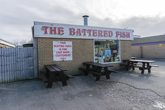 (BanalEverydayOverlooked) Tags: fishandchips fish chips closed offseason end 2017 sociallandscape emptyplaces atwarwiththeobvious a6000 democraticforest documentingspace digital document sony sonya6000 streets study colour composition costal northwalescoast seaside newtopographics urbanwales urban urbanphoto urbanuk urbanlandscape light flickr
