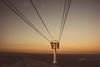 A sky path (7austins) Tags: sky lift cables sunset mountain