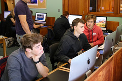 IMG_0507 (proctoracademy) Tags: academics advancedmathengineering classof2018 classof2019 computer computerlab levisayben math science slackethan