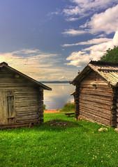 IMG_6911_2_3_4_tonemapped-1 (Andre56154) Tags: schweden sweden sverige siljan dalarna haus house gebäude building holzhaus himmel sky wolke cloud ufer wasser water