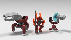 Halo, Shade Turrets and Honor Guard (Beasto_) Tags: halo lego moc