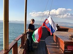 45 - Sétahajózás a Galileai - tengeren / Vyhliadková plavba na Genezaretskom jazere