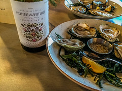 2017 - photo 336 of 365 (old_hippy1948) Tags: oysters riesling lightfootwolfville