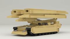 M104 Wolverine (TheRookieBuilder) Tags: m104wolverine track armor military lego legodigitaldesigner mecabricks blender render