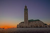 Hassan II Mosque -Casablanca - (Aziz Peps) Tags: minaret tamron d750 nikon lowlight islam religion maroc morocco casablanca hassan2 hassanii mosquée mosque sunset