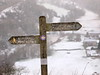 snow-find(published D.E.Telegraph16/12. (johnb/Derbys/UK) Tags: snowfind snow sign pov myworld derbyshireuk winter today fresh