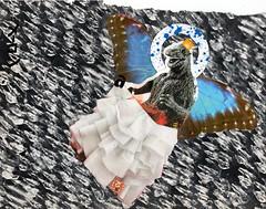 Blushing Bridezilla's Something Blue (Marc-Anthony Macon) Tags: art dada dadaism dadaísmo folkart outsiderart rawart intuitiveart popart