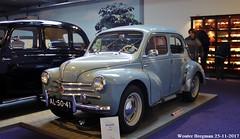 Renault 4CV 1957 (XBXG) Tags: al5041 renault 4cv 1957 renault4cv quatch r1062 smit klassiek museum oudbeijerland oud beijerland nederland holland netherlands paysbas vintage old classic french car auto automobile voiture ancienne française vehicle indoor