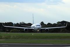 J78A1902 Thomas Cook G-TCCA (M0JRA) Tags: thomas cook gtcca manchester airport planes flying jets biz aircraft pilot sky clouds runways