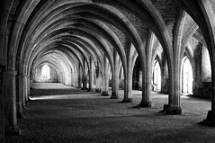 Have A Great Holiday in Northern Britain. (plot19) Tags: yorkshire fountains abbey england english north nikon northern uk britain british blackandwhite blackwhite plot19 photography