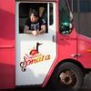 The Empanada Sonata guy (TheeErin) Tags: tattoo the empanada sonata food truck gardencity newyork unitedstates armtat foodtruck vendors peopleatwork people guy sunlight dude バレットクラブ red wheel