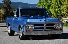 1970 GMC 1500 pickup truck (Custom_Cab) Tags: 1970 gmc 1500 c c1500 pickup truck pick up wideside fleetside blue 1969